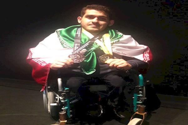 وزنه برداری معلولان آسیا و اقیانوسیه ، ایزدی در جوانان و برگسالان مدال گرفت