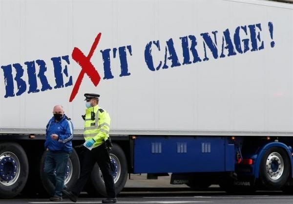 تداوم پس لرزه های برگزیت در انگلیس، هشدار درباره خالی ماندن قفسه های فروشگاه ها